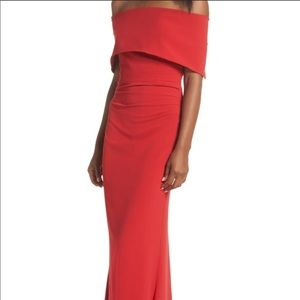 Vince Camuto Red mermaid dress